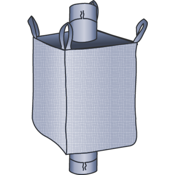 Big Bag formstabil 104x104x210 cm