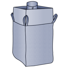 Big Bag 90x90x110 cm mit Einfüllstutzen