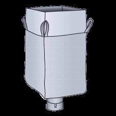 Big Bag Schürze / Auslauf 90x90x165 cm