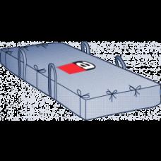 Plattenbag 260x125x45 cm Asbest