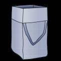 MIRAWO Big Bag 140x140x120