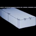 Containerbag für Abroller 38 cbm 620x240x240 cm